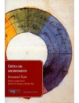 Crítica del discernimiento