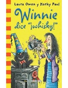 "Winnie dice  ""¡Whisky!"""