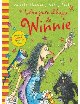 Libro para dibujar de Winnie