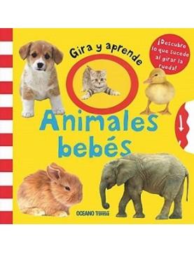 Gira y aprende. Animales bebes